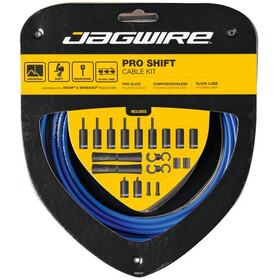 Jagwire 2X Pro Shift Schaltzugset blau